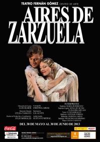 Cartel Aires de Zarzuela Fondo negro2